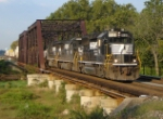 NS 214 eastbound at 8:30 on 9/27/06 over CR's SA Lehigh Line